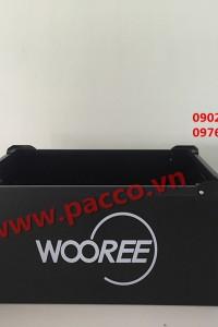 Thùng nhựa danpla không đậy Pacco PP02 -01