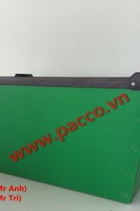 Thùng nhựa danpla không đậy Pacco PP01 -01